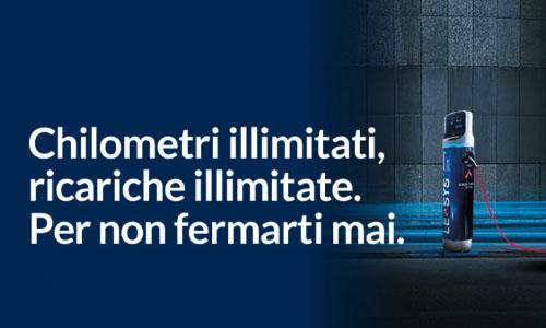 Guida i veicoli Hybrid ed Elettrici, percorri i km che vuoi, ricaricando il veicolo gratuitamente in tutti i Leasys Mobility Store.