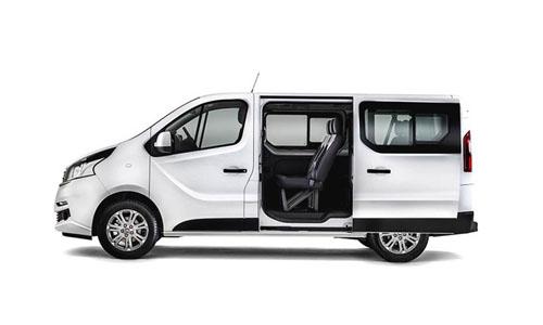 Noleggio breve termine Fiat Talento o similare - Minivan, 9 Posti, A/c, Radio,gomme M S