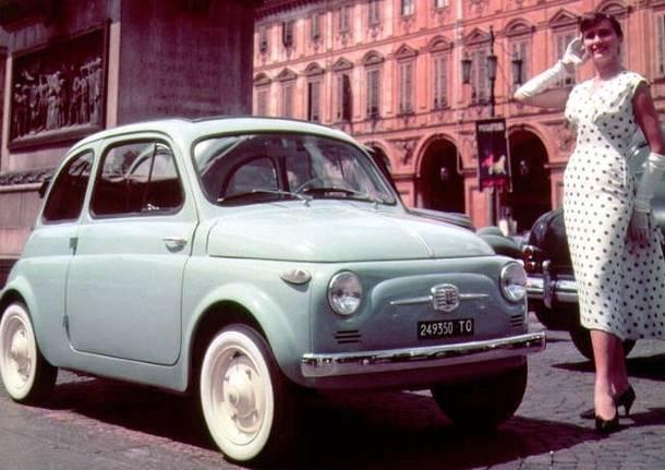 Fiat 500, sessant'anni e non sentirli!