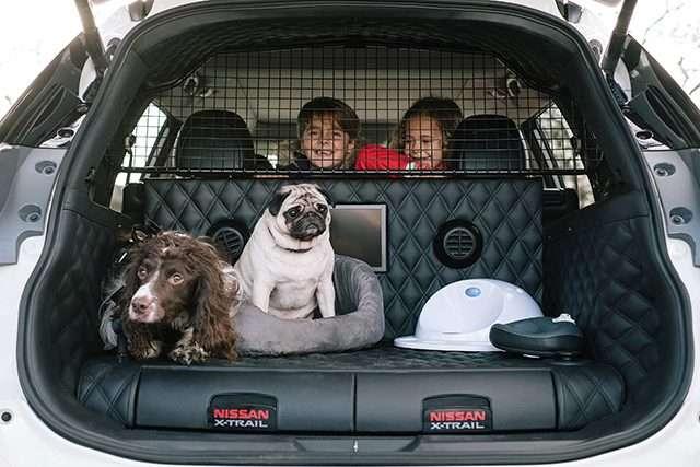 Arriva Nissan X-Trail4Dog, il paradiso per gli amici a quattro zampe in viaggio!
