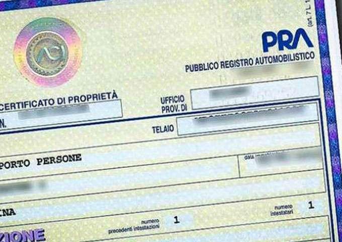 DEMATERIALIZZAZIONE DEL CERTIFICATO DI PROPRIETA' DEI VEICOLI, SITUAZIONE ANCORA CONFUSA.