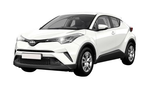Noleggio lungo termine Toyota C-HR a partire da Euro 344 i.e.