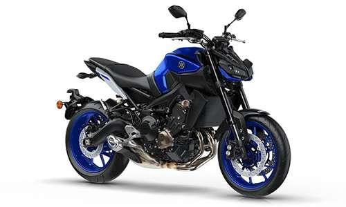 Noleggio lungo termine Yamaha MT 09 a partire da 205 €