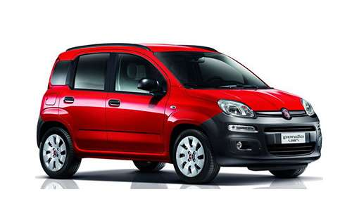Noleggio lungo termine Fiat Panda VAN 4posti a partire da 274 €