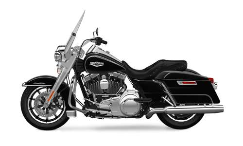 Harley Davidson touring road king classic vivid black