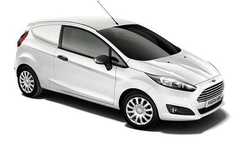 Noleggio lungo termine Ford Fiesta Van 3p a partire da Euro 299 i.e.