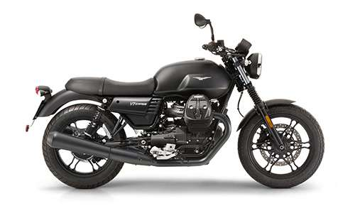 Noleggio lungo termine Moto-Guzzi V7 III Stone a partire da 185 €