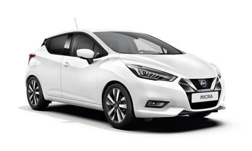 Noleggio lungo termine Nissan Micra a partire da 200 €