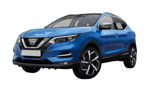 Noleggio lungo termine Nissan Qashqai a partire da Euro 350 i.e.