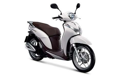 Honda-Moto Sh 125 ABS con Parabrezza e Bauletto a Noleggio