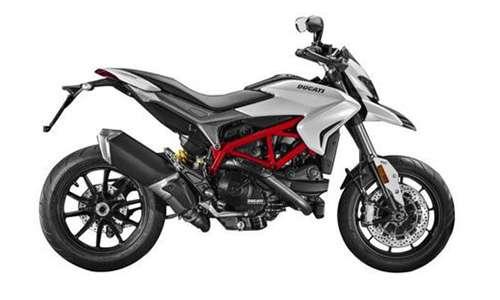 Ducati Hypermotard 821 White