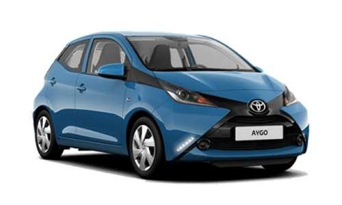 Noleggio lungo termine Toyota Aygo a partire da 225 €