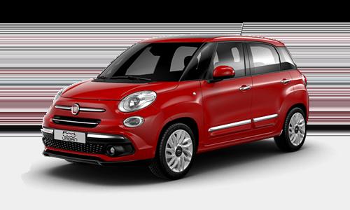 Noleggio lungo termine Fiat 500L a partire da Euro 241 i.e.