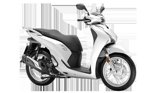 honda-moto sh 150 abs con parabrezza e bauletto a Noleggio