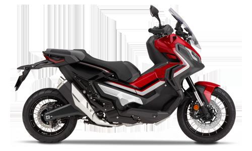 Honda-Moto X-Adv Abs CDT con Bauletto MY18 a Noleggio