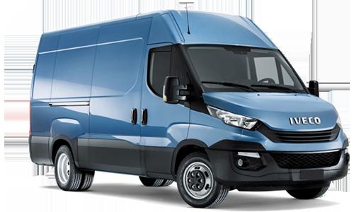 Iveco Daily Furgone 35c12 v 4100 h2 quad-tor rg + pack business a Noleggio
