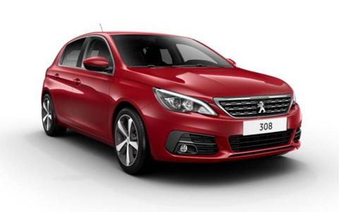 Noleggio lungo termine Peugeot 308 a partire da 341 €