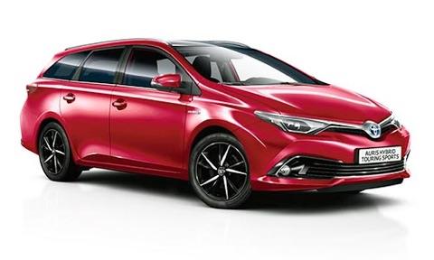 Noleggio lungo termine Toyota Auris a partire da 351 €