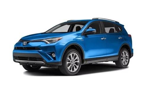 Noleggio lungo termine Toyota RAV4 a partire da 392 €