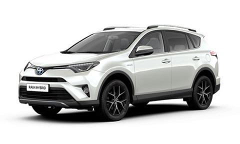 Noleggio lungo termine Toyota RAV4 a partire da 323 €