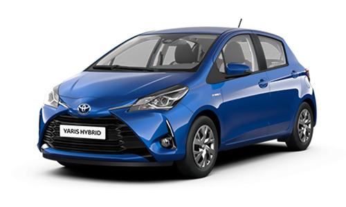 Noleggio lungo termine Toyota YARIS a partire da Euro 265 i.e.
