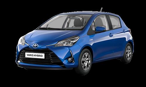 Noleggio lungo termine Toyota Yaris a partire da Euro 245 i.e.