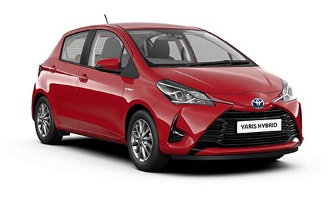 Noleggio lungo termine Toyota YARIS a partire da 289 €