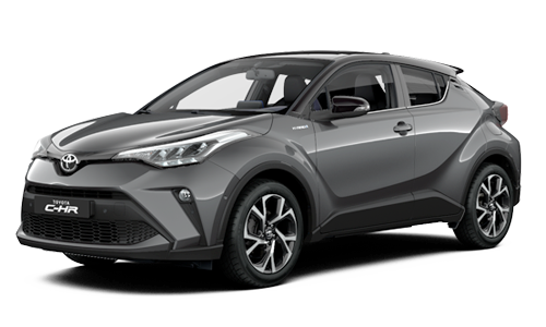Toyota C-HR 1.8 Hybrid 122cv business a Noleggio