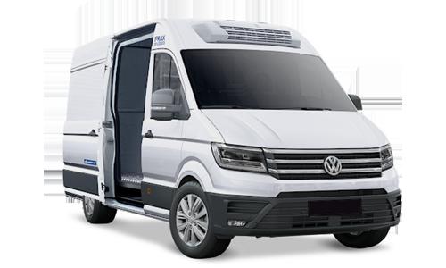 volkswagen crafter 35 l3h3 2.0 tdi 140cv business coibentazione e frigo +4 / 0°c a Noleggio