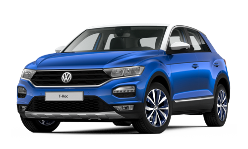 Noleggio lungo termine Volkswagen T-Roc a partire da Euro 416 i.e.