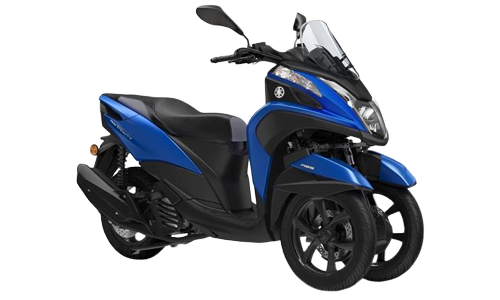 Noleggio lungo termine Yamaha Tricity a partire da Euro 124 i.e.
