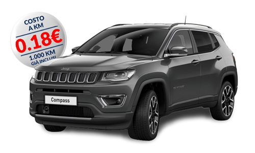jeep compass 1.6 mjet ii 88kw limited a Noleggio