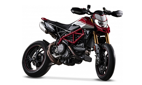 Noleggio lungo termine Ducati Hypermotard a partire da Euro 244 i.e.