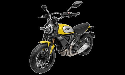 ducati scrambler 803 icon yellow a Noleggio
