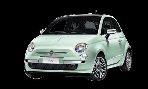Noleggio lungo termine Fiat 500 a partire da Euro 201 i.e.