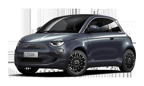 Fiat 500 Elettrica la prima 118Cv a Noleggio