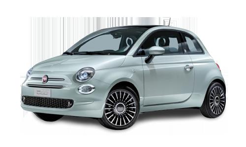 Noleggio lungo termine Fiat 500 a partire da Euro 184 i.e.