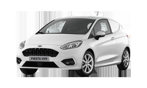 Noleggio lungo termine Ford Fiesta Van 3p a partire da Euro 253 i.e.