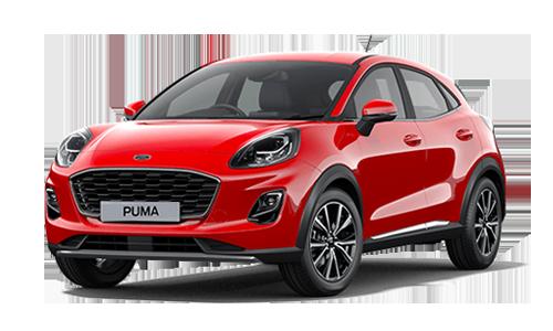 Noleggio lungo termine Ford Puma a partire da Euro 301 i.e.
