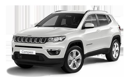 Noleggio lungo termine Jeep COMPASS a partire da Euro 473 i.e.