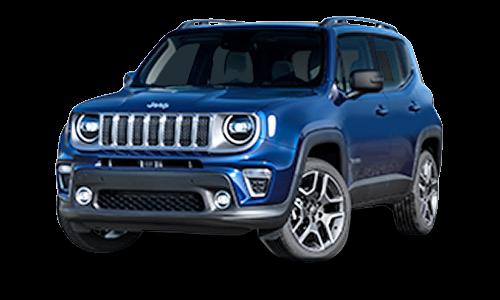 Noleggio lungo termine Jeep Renegade a partire da Euro 311 i.e.