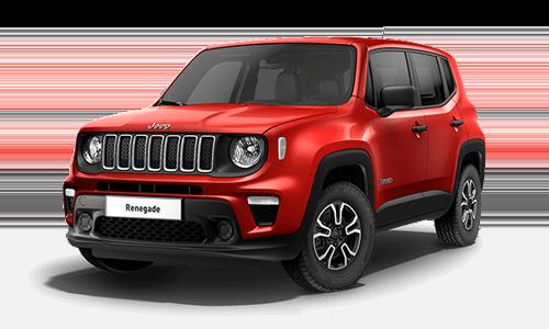 Noleggio lungo termine Jeep Renegade a partire da Euro 301 i.e.
