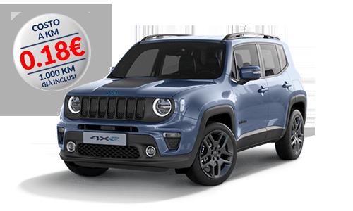 Jeep Renegade 1.0 T3 120cv Longitude a Noleggio