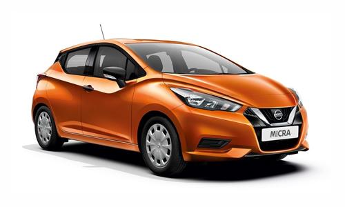 Noleggio lungo termine Nissan MICRA a partire da 262 €