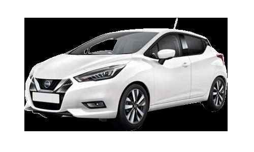 Noleggio lungo termine Nissan Micra a partire da Euro 260 i.e.