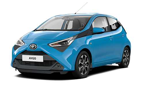 Toyota Aygo Connect 1.0 VVT-i x-business MMT a Noleggio