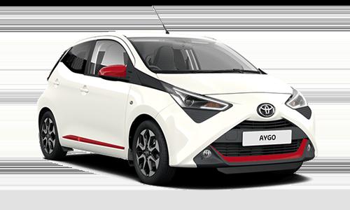 Noleggio lungo termine Toyota Aygo a partire da Euro 185 i.e.