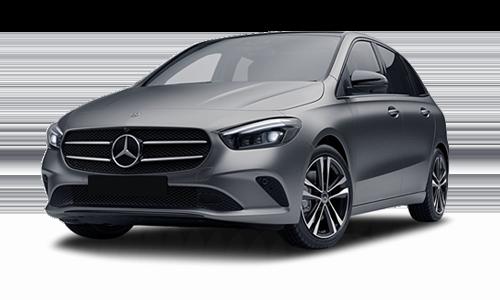 Noleggio lungo termine Mercedes Classe B a partire da Euro 394 i.e.