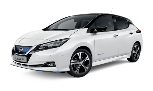 Noleggio lungo termine Nissan Leaf a partire da Euro 516 i.e.