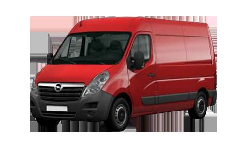 Noleggio lungo termine Opel MOVANO a partire da Euro 318 i.e.